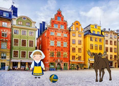 ¡Evádete con el mes de Suecia en HamsterStory!